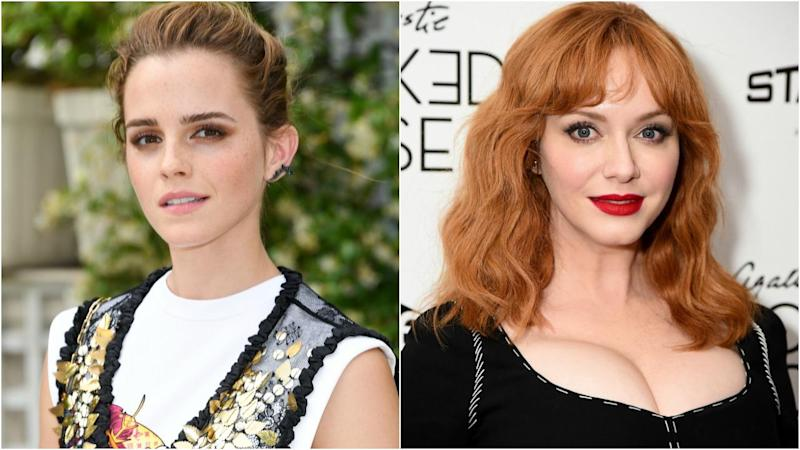 Emma Watson and Christina Hendricks to Present at 2018 Golden Globes (Exclusive)