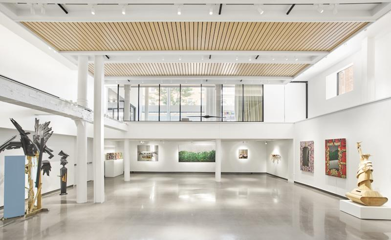 The main gallery of the 21c Nashville.