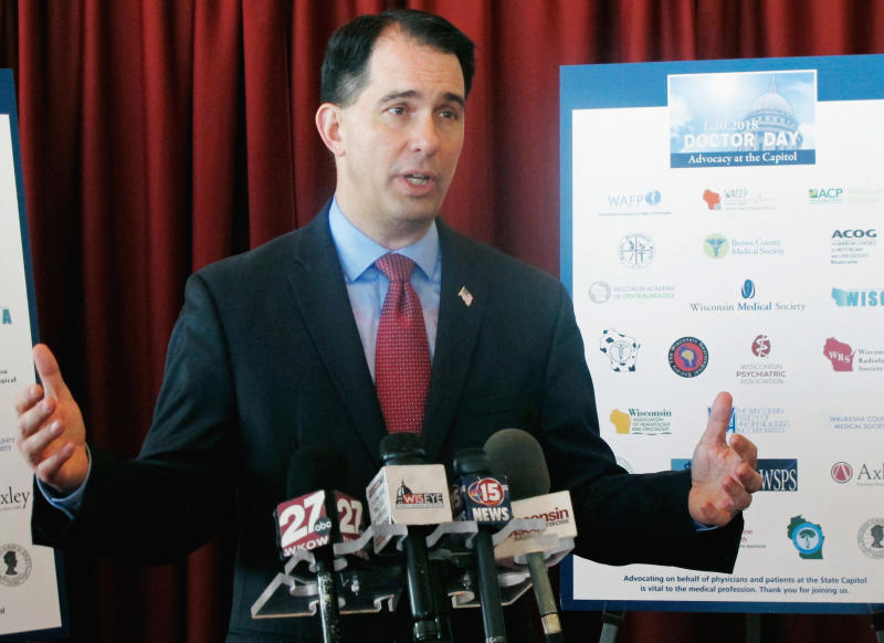 Walker reacts to Trump's call for Harley boycott