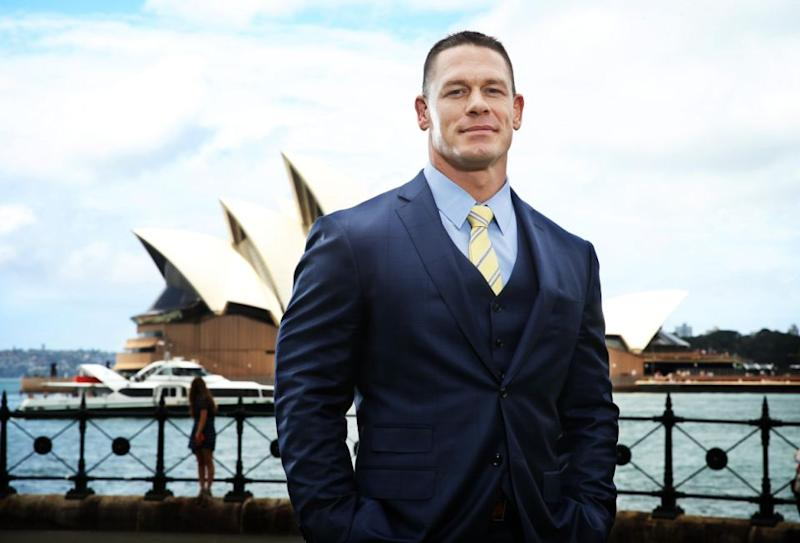 Actor and former wrestler John Cena poses during a 'Ferdinand' media call in Sydney, New South Wales. Source: Getty