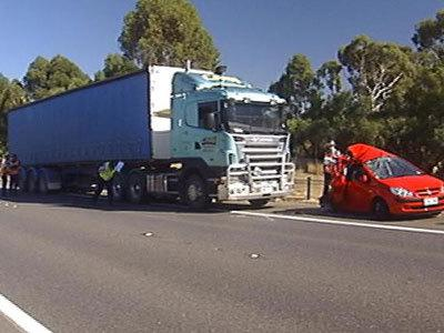 Disqualified truckie accused of driving unlicenced