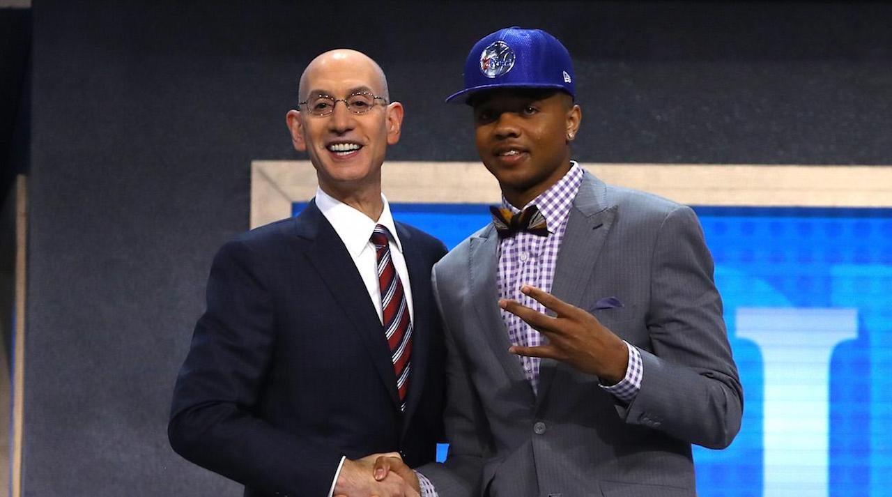 """<p>Thursday's NBA Draft was filled with wild rumors, big trades and fascinating selections. Below are 10 of the most intriguing storylines from a crazy night in the NBA. </p><p><b>76ers amp up rebuilding by adding Markelle Fultz </b>– Fultz was the best pick to go first overall. And he is going to a 76ers team that has added so many good, young players. He joins Joel Embiid, Jahlil Okafor, Dario Saric, and Ben Simmons as some of the developing stars. Fultz is the point guard that the 76ers needed to finish the core since all of the other players are forwards or centers. GRADE: A</p><p><b>Lonzo Ball stays near home and joins the Los Angeles Lakers </b>– Coming off a great season with UCLA, Ball will be added to a team that is trying to return to the playoffs for the first time in four seasons. He can be mentored by Magic Johnson, who joined the team in February as President of Basketball Operations. His father, LaVar Ball, has been very supportive of his son, but has made some very controversial remarks including, """"he's better than Steph Curry,"""" and """"my son will only play for the Lakers."""" Despite that, Ball is a great player on the floor and although his shooting form is very unusual, he shot 55.1% at UCLA, so he's still reliable from the floor. GRADE: A</p><p><b>Celtics choose Jayson Tatum from Duke instead of Josh Jackson from Kansas (selected by the Suns fourth overall) </b>– Celtics' GM Danny Ainge said that the Celtics would have taken Jayson Tatum at the first overall slot if they hadn't traded it away to the 76ers. However, they got their guy at third overall. Many analysts projected that former Kansas forward Josh Jackson was the player that the Celtics would choose, but Jackson did not work out with the Celtics because of scheduling difficulties. Tatum will give Boston a forward with great scoring ability. GRADE: A-</p><p><b>Ex-Kansas forward Josh Jackson is selected fourth overall by the Phoenix Suns – </b>Jackson is a player that has strengths in offense a"""