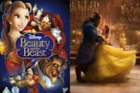 """<p>Emma Watson stars as Belle in Disney's upcoming <a href=""""https://www.seventeen.com/celebrity/movies-tv/news/a43570/beauty-and-the-beast-adds-a-feminist-twist-to-belles-backstory/"""" rel=""""nofollow noopener"""" target=""""_blank"""" data-ylk=""""slk:feminist adaptation"""" class=""""link rapid-noclick-resp"""">feminist adaptation</a>, hitting theaters March 17, 2017. The movie musical features songs both new and original songs. Emma Watson's singing voice is pretty great but I'll never get over a young girl named Belle from a small French village having a British accent. </p><p><a class=""""link rapid-noclick-resp"""" href=""""https://www.amazon.com/dp/B06XHM3BH6?tag=syn-yahoo-20&ascsubtag=%5Bartid%7C10065.g.2936%5Bsrc%7Cyahoo-us"""" rel=""""nofollow noopener"""" target=""""_blank"""" data-ylk=""""slk:Watch the Remake"""">Watch the Remake</a></p>"""