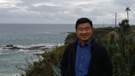 Tony Kim, one of the three Americans being held captive by North Korea, is seen in California