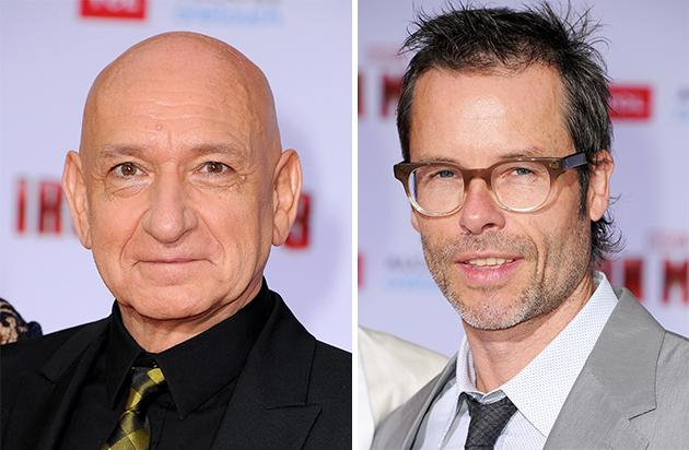 Sir Ben Kingsley and Guy Pearce