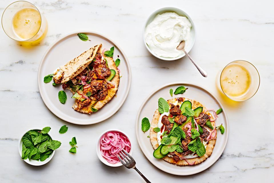 """<h1 class=""""title"""">Cook This Now Torn Tofu Hero-Alt</h1><div class=""""caption"""">It's a technique made for these <a href=""""https://www.epicurious.com/recipes/food/views/shawarma-spiced-tofu-pita-wraps?mbid=synd_yahoo_rss"""" rel=""""nofollow noopener"""" target=""""_blank"""" data-ylk=""""slk:Shawarma-Spiced Tofu Pita Wraps"""" class=""""link rapid-noclick-resp""""><strong>Shawarma-Spiced Tofu Pita Wraps</strong></a><strong>.</strong></div><cite class=""""credit"""">Photo by Ted + Chelsea Cavanaugh, Prop Styling by Nathaniel James, Food Styling by Laura Rege</cite>"""