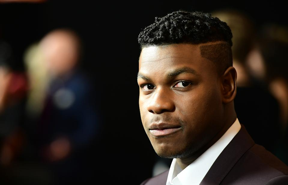 """File photo dated 15/03/18 of John Boyega, who said he does not want to """"work in fear"""" when he is in the US as he addressed the unrest that has been triggered by the death of a black man during a police arrest."""