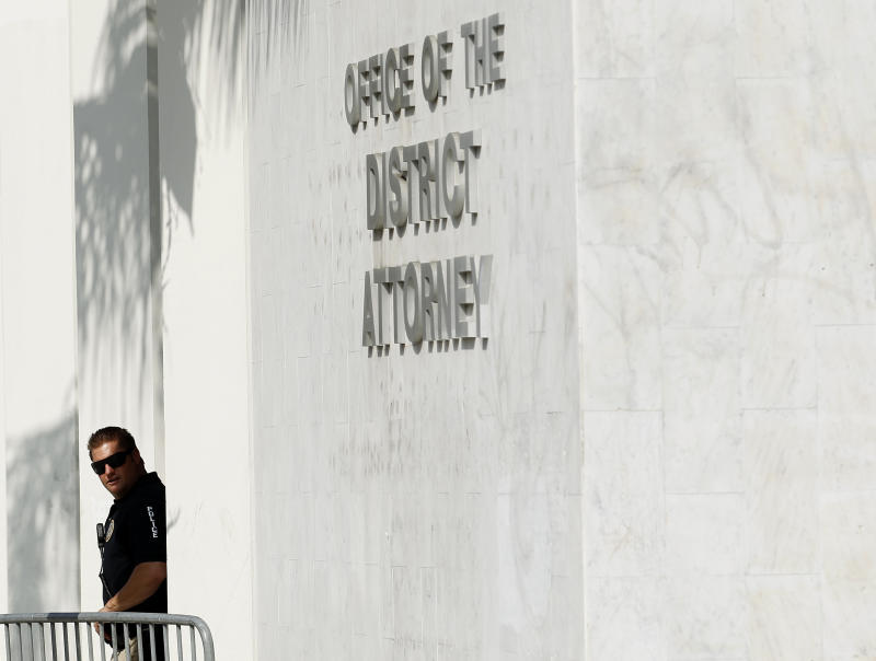 The Orange County District Attorney's building. (Mike Blake / Reuters)