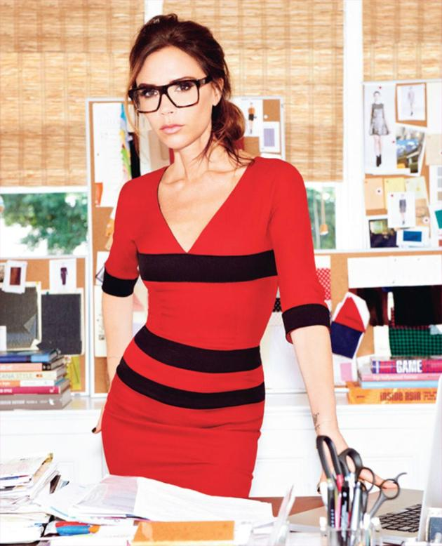 Celebrity Twitpics: Victoria Beckham already has an insanely popular fashion range, and now she's branching out into optical wear. The star tweeted this photo of herself in a pair of seriously chic glasses as she made the announcement about her latest business venture.