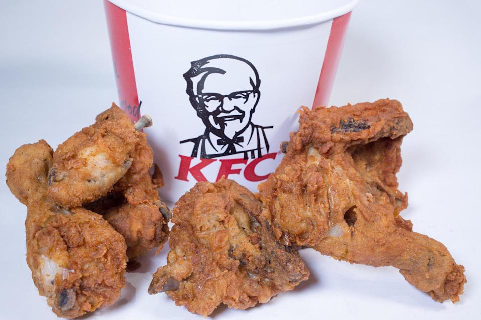 One 50-year-old celebrated with a KFC