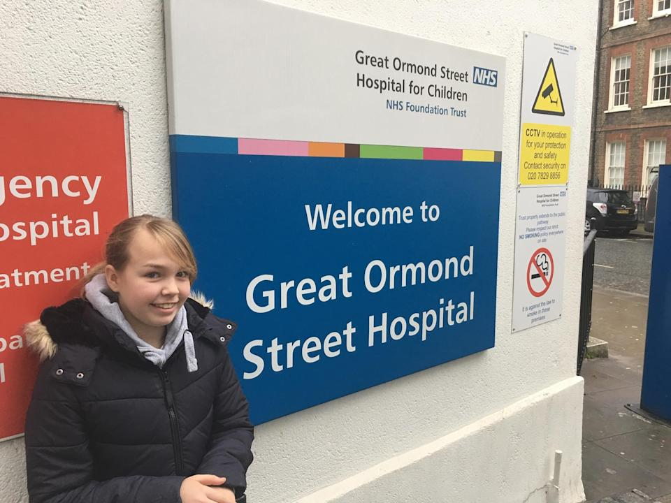 Anna Hadley was the first patient to receive a DCD heart thanks to the partnership between Gosh and the Royal Papworth Hospital (PA)
