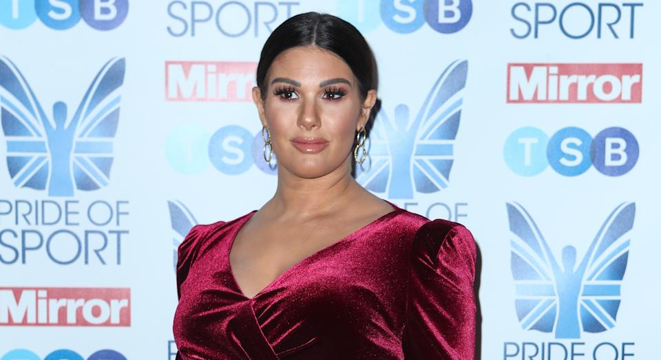 Rebekah Vardy has opened up about her mental health struggle since her clash with Coleen Rooney went viral in October 2019. (Getty Images)