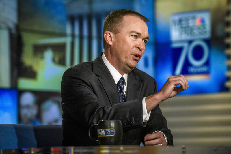 Mick Mulvaney, director of the White House Office of Management and Budget, confirmed Sunday thatthere wouldbeno new action taken to restructure Puerto Rican debt. (NBC NewsWire/Getty Images)