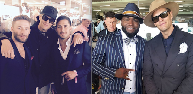 "<a class=""link rapid-noclick-resp"" href=""/nfl/players/5228/"" data-ylk=""slk:Tom Brady"">Tom Brady</a> is no stranger to the Kentucky Derby. (Instagram)"