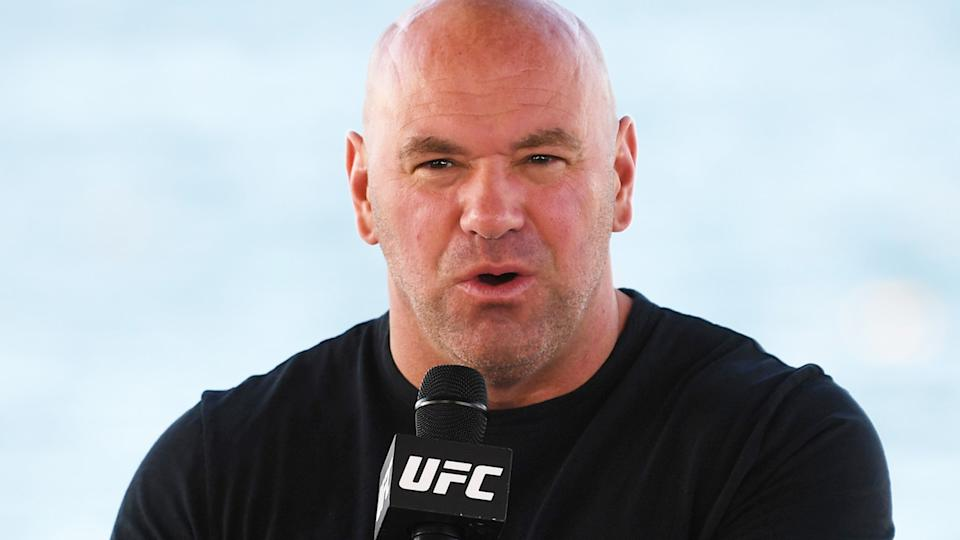 UFC president Dana White has taken aim at the media in a stunning five-minute video posted to Twitter. (Photo by Josh Hedges/Zuffa LLC)