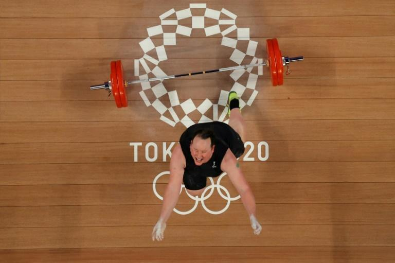 New Zealand's Laurel Hubbard has been hailed as a transgender pioneer after her Olympic debut