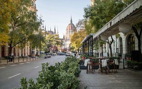 Street in the centre of Budapest - Credit: iStock