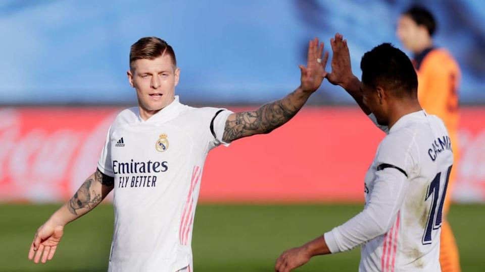Kroos y Casemiro, Real Madrid | Soccrates Images/Getty Images