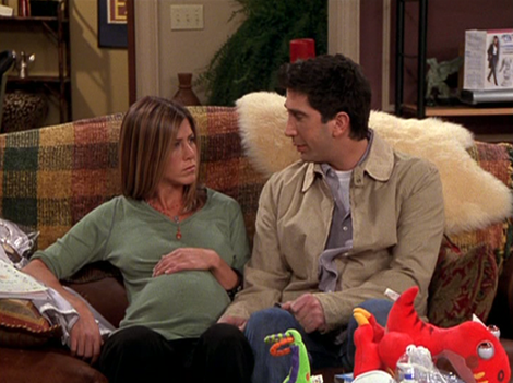 A woman had to ask for advice after her husband insisted his parents watch the birth of their twins. Source: Friends (NBC)