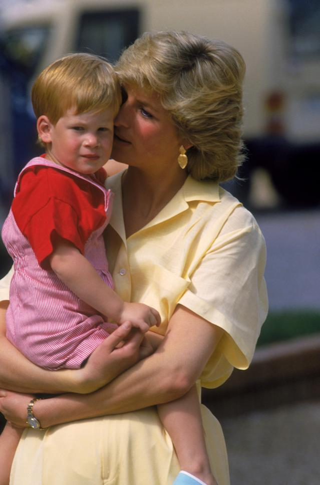 Prince Harry lost his mother, Princess Diana, in 1997 at just 12-years-old. Source: Getty