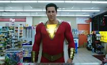 "<p>The DCEU works in a lighter, sillier mode in this Zachary Levi-starring film. Billy Batson, a 14-year-old kid, gets the ability to transform into the adult superhero Shazam, which is all fun and games in a <em>Big</em> sort of way until he has to go up against an actual supervillain.</p><p><a class=""link rapid-noclick-resp"" href=""https://www.amazon.com/Shazam-Zachary-Levi/dp/B07R4GGPRK?tag=syn-yahoo-20&ascsubtag=%5Bartid%7C10063.g.35128363%5Bsrc%7Cyahoo-us"" rel=""nofollow noopener"" target=""_blank"" data-ylk=""slk:WATCH ON AMAZON"">WATCH ON AMAZON</a> <a class=""link rapid-noclick-resp"" href=""https://go.redirectingat.com?id=74968X1596630&url=https%3A%2F%2Fwww.hbomax.com%2F&sref=https%3A%2F%2Fwww.redbookmag.com%2Flife%2Fg35128363%2Fdc-movies-in-order%2F"" rel=""nofollow noopener"" target=""_blank"" data-ylk=""slk:WATCH ON HBO MAX"">WATCH ON HBO MAX</a></p>"