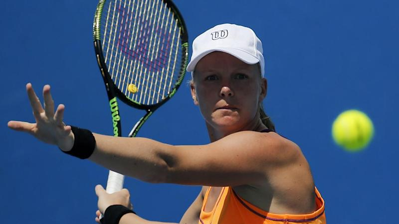 Lucie Safarova bundled out of Hobart WTA