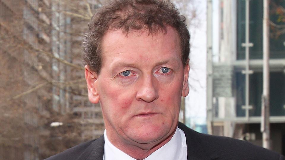 This picture shows disgraced former AFL player agent Ricky Nixon.
