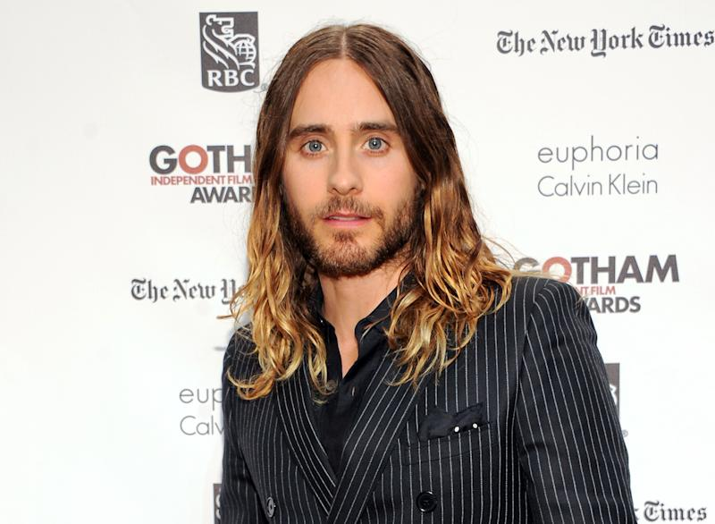 "FILE - This Dec. 2, 2013 file photo shows actor Jared Leto at the 23rd Annual Gotham Independent Film Awards in New York. Leto was nominated for an Academy Award for best supporting actor on Thursday, Jan. 16, 2014, for his role in ""Dallas Buyers Club."" The 86th Academy Awards will be held on March 2. (Photo by Evan Agostini/Invision/AP, File)"