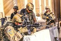 Additional American soldiers were sent last week to reinforce the embassy in the capital Baghdad, after a pro-Iran mob breached the outer wall