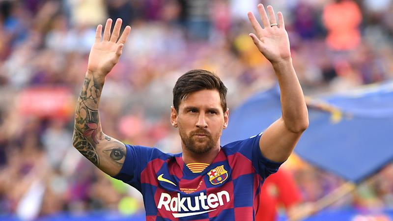 Messi is the best player in history, claims La Liga president Tebas