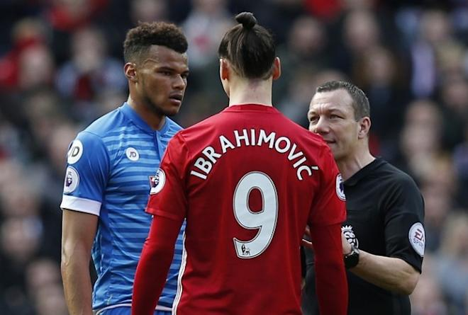 Zlatan Ibrahimovic, Tyrone Mings, Manchester United news, Bournemouth news, Premier League news, Ibrahimovic and Mings charged by FA
