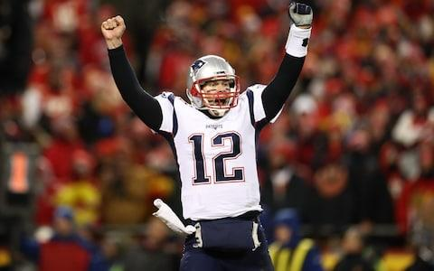 <span>New England Patriots quarterback Tom Brady will have the chance to win his sixth Super Bowl</span> <span>Credit: Ronald Martinez/Getty </span>