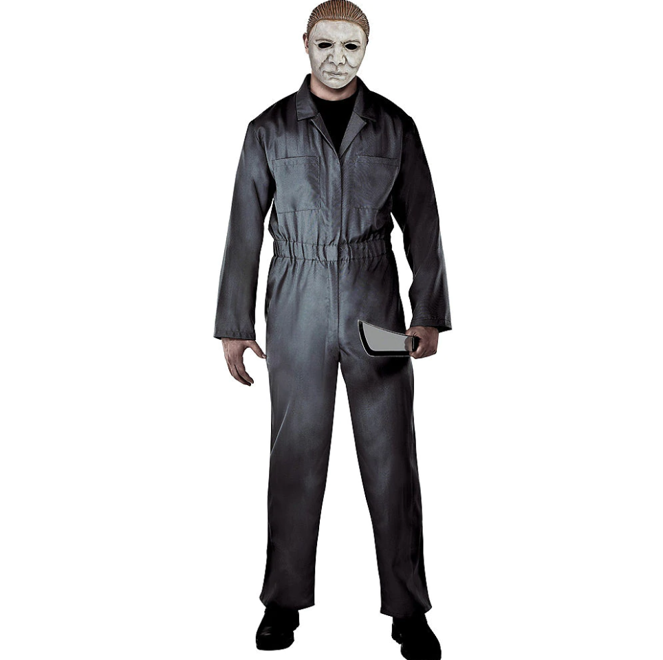 """<p><strong>See All Michael Myers Costumes</strong></p><p>partycity.com</p><p><strong>$39.99</strong></p><p><a href=""""https://go.redirectingat.com?id=74968X1596630&url=https%3A%2F%2Fwww.partycity.com%2Fadult-gray-michael-myers-costume---halloween-P843039.html%3Fdwvar_P843039_size%3DStandard%2BSize%26cgid%3Dgroup-costumes-scary&sref=http%3A%2F%2Fwww.womansday.com%2Fstyle%2Fg22509316%2Fscary-halloween-costume-ideas%2F"""" target=""""_blank"""">SHOP NOW</a></p><p>If you really want to spook people during Halloween, make sure to lurk by door frames and dark rooms when people seem to be approaching you.</p>"""