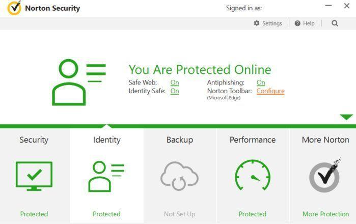 Antivirus protection, like this program from Norton, will protect you from hackers who are taking advantage of the shift to working from home. (Photo: Norton)