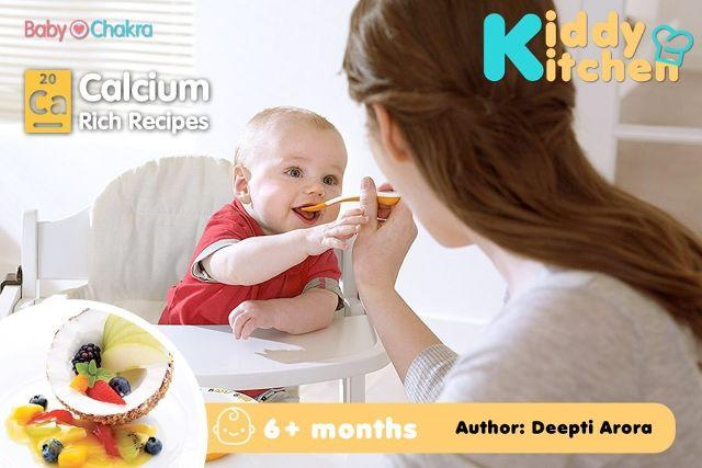 Calcium Special Meal Plan: 6 Months