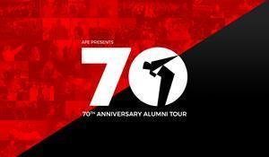 Armed Forces Entertainment 70th Anniversary Alumni Tour Logo