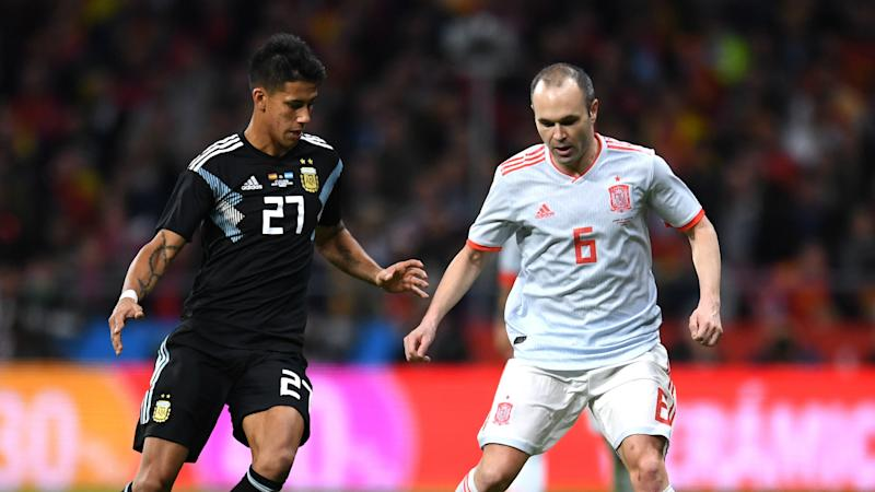 Argentina debutant Meza angry after Spain humiliation