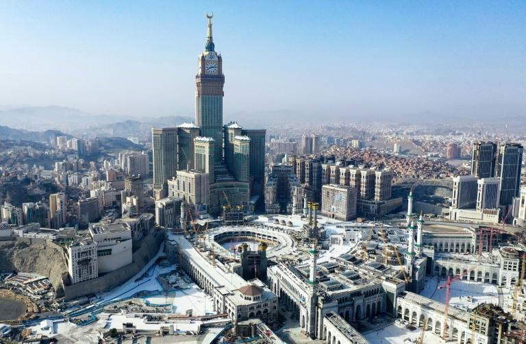 The Grand Mosque complex in Saudi Arabia's holy city of Mecca