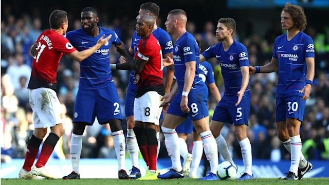 Antonio Rudiger has insisted there is no bad blood between Chelsea and Manchester United, despite late scuffles on and off the pitch.