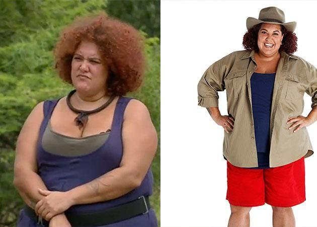 Casey weighed 149kg before going into the jungle. Source: Channel 10