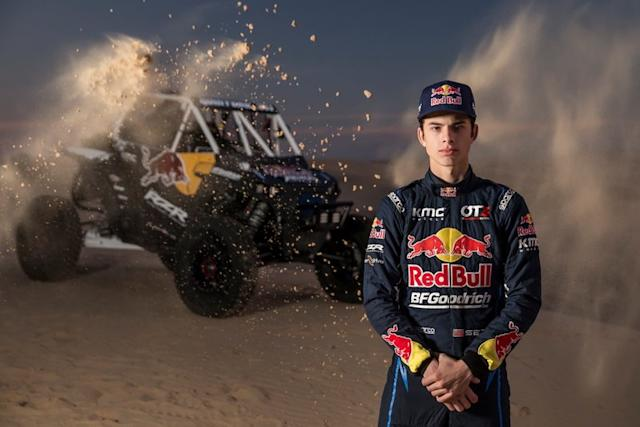 "Seth Quintero, miembro del equipo Red Bull Off-Road Junior <span class=""copyright"">Red Bull Content Pool</span>"