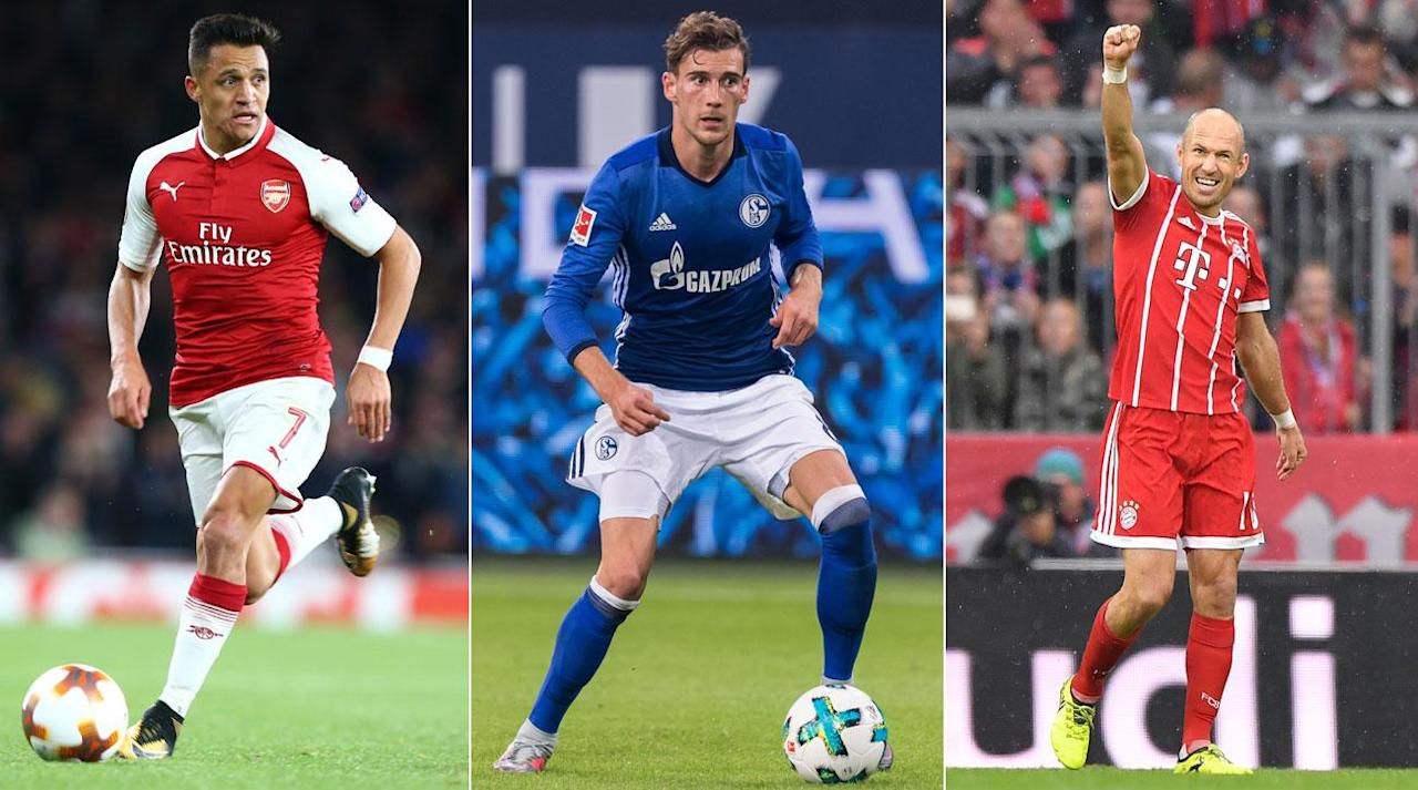 <p>Amid the lucrativeness of the modern day transfer market, it sometimes goes under the radar that there can be some hidden gems scattered across the free agent market.</p><p>Free agents usually come about when a player is no longer wanted at a club, or in the case of this article, the players are very highly regarded and are seeking pastures new for financial or footballing reasons.</p><p>Let's take a look at a starting XI of star players who may be up for grabs next summer:</p><p><strong>GK. Gianluigi Buffon, Juventus</strong></p><p>The veteran goalkeeper is entering the last year of his contract at Juventus, and has previously stated that he is '99.9%' certain on his retirement following next summer's World Cup in Russia.</p><p>The 39-year-old is a legend in Turin, having played for the Old Lady since 2001, and has made over 490 appearances for the Serie A club.</p><p>It is unlikely that Buffon will join another club once his contract is up, but at the moment, there remains a 0.1% chance that the Italian's services will be available next summer.</p><p></p><p><strong>RB. Juanfran, Atletico Madrid</strong></p><p>The 32-year-old's six year spell at Atletico looks to be coming to an end, as he only has one year remaining on his contract at the Wanda Metropolitano.</p><p>The Real Madrid academy graduate has been a loyal servant in the red and white of Real's rivals, making over 200 appearances and scoring three goals.</p><p>Juanfran still has many years of top-flight football in him, and may prove to be a useful asset to any clubs scouring the free agent market.</p><p><strong>CB. Giorgio Chiellini, Juventus</strong></p><p>Chiellini is widely regarded as one of the best defenders in world football, having been named by <em>The Guardian</em> as the 50th best player in the world, as well as the seventh best player in Europe by Bloomberg.</p><p>At 33 years of age, the 92-capped Italy international's years at the top level may be running out, but he would still prove to b