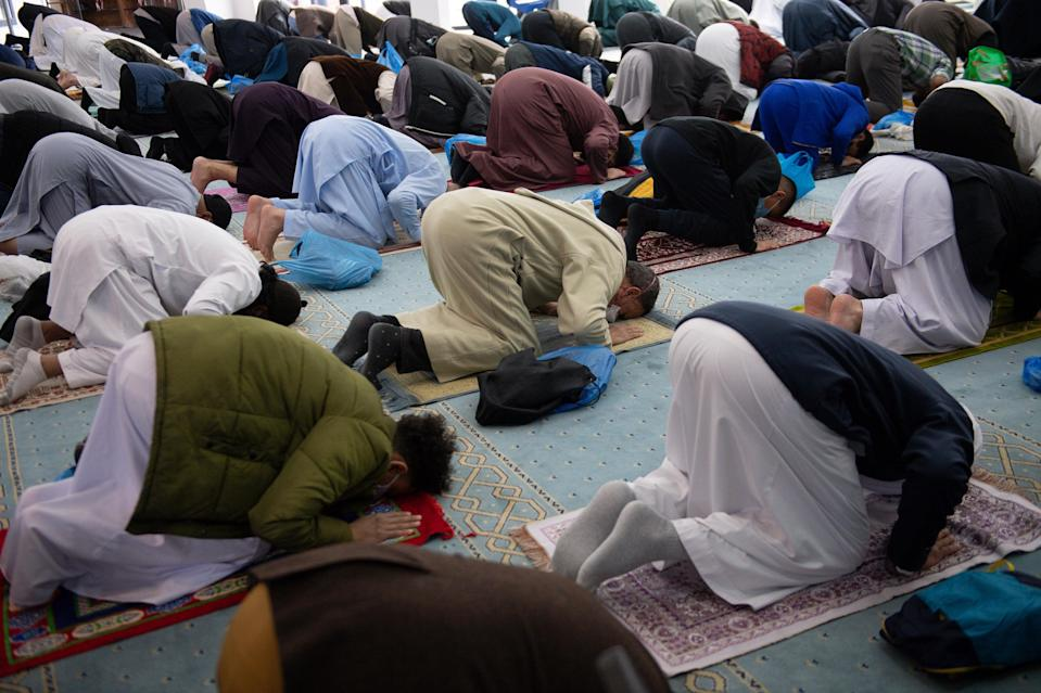 There are fears Eid could be a 'super-spreader' event (Jacob King/PA) (PA Wire)
