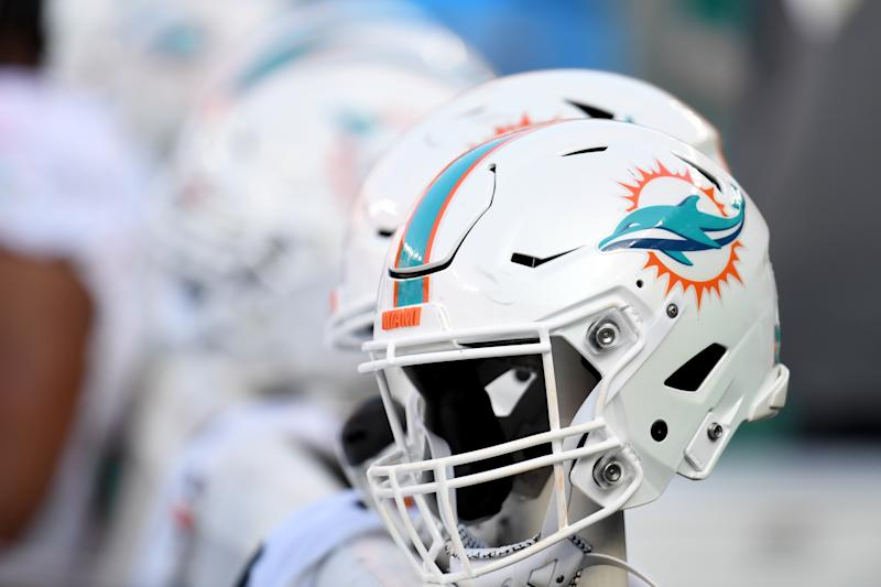 Dolphins helmets