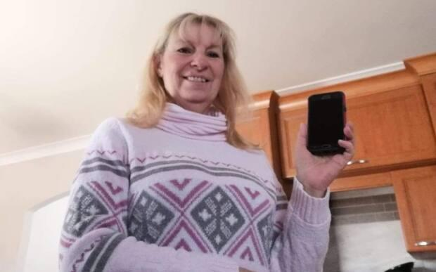 Carol Provost of Quebec spends her summers in Murray Harbour, where she lost her phone. Someone found it and hung on to it for her until she returned the next spring.
