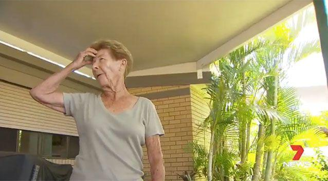 Mrs Reeves has left bruised and shaken by the attack. Picture: 7 News