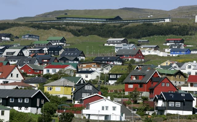 The Faroe Islands is believed to be currently free of coronavirus (Andrew Milligan/PA)