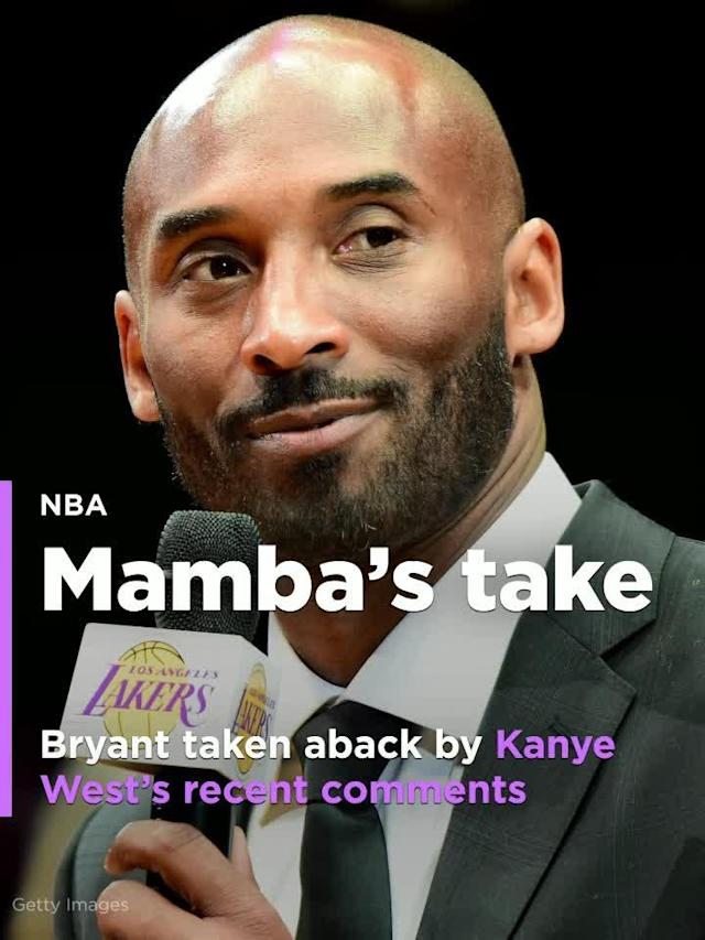 "A few weeks after Kanye West told a TMZ audience that 400 years of slavery ""sounds like a choice,"" recently retired NBA legend Kobe Bryant was asked about the rapper's comments by one of the 300 high school students on hand at WE RISE."