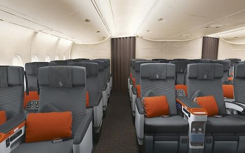 The new service will be exclusively for business and premium economy passengers