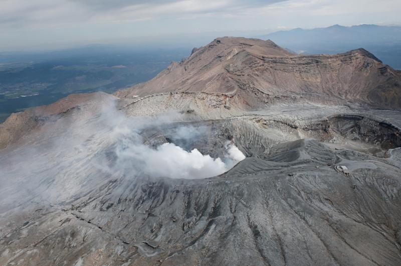 Japan's Mount Aso Volcano Erupts, No Casualties Reported